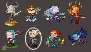 For the Alliance ! (chibi version)
