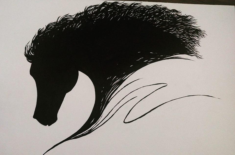 Black Stallion by heatwill