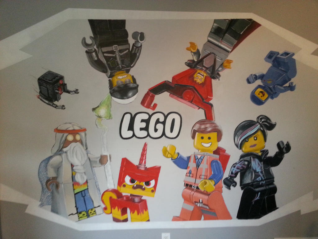 lego wall mural www galleryhip com the hippest pics