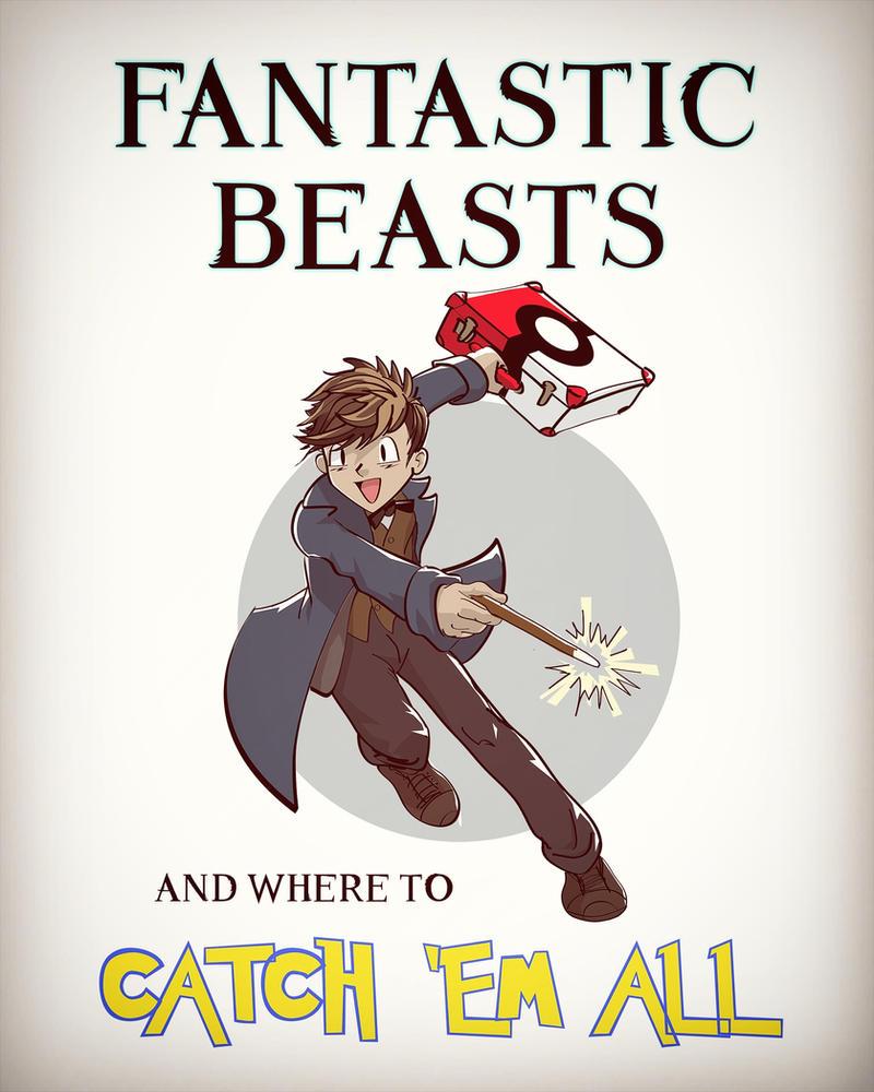Fantastic Beasts/Pokemon Mash-up by Dantooine