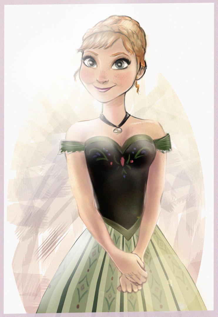 Anna from Frozen by Dantooine