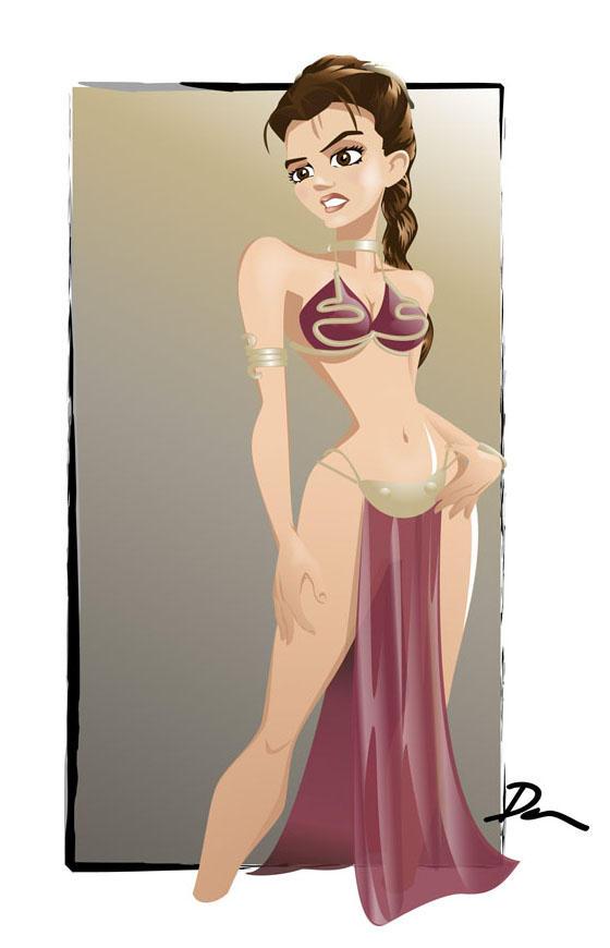 Slave Leia by Dantooine