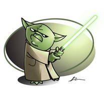 Yoda, Colour by Dantooine