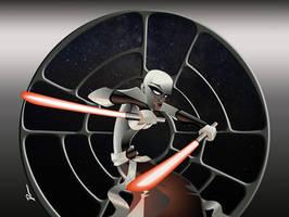 Assaj Ventress by Dantooine