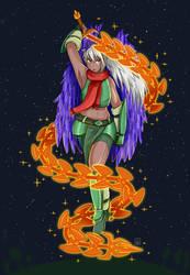 My Terraria's character fanart