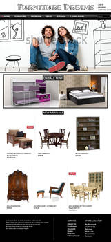 Furniture Store Mockup