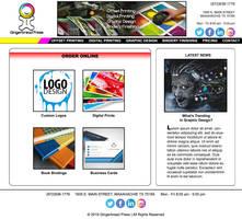 Gingerbread Press Website (version 2)