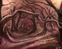 bosque rosa del topo-sin albur by Dr-Stain