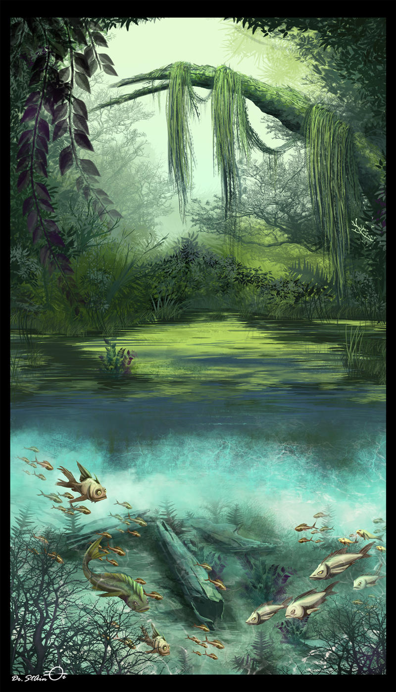 Under the Swamp by Dr-Stain