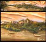 landscape for war