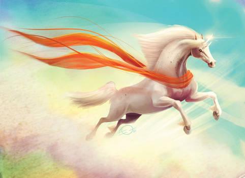 flying horse