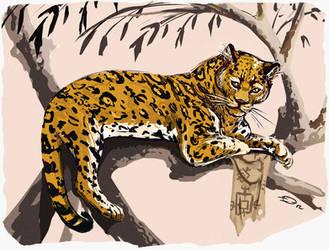 Panthera nahuel bien manchada by Dr-Stain