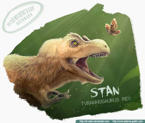 Stan Tiranosaurius Rex by Dr-Stain