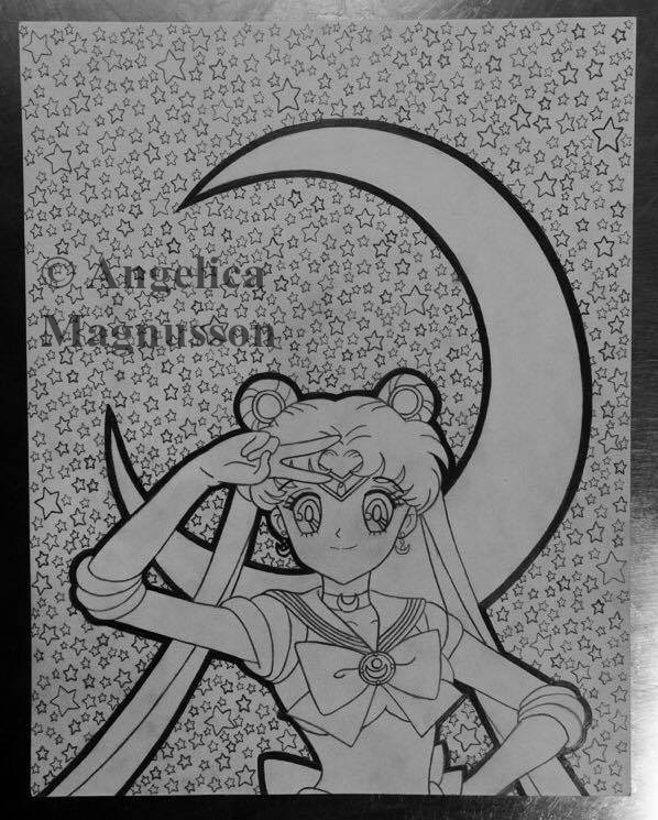 Sailor Moon by AnkaaaaPORR