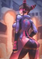 (Street Fighter) Juri Han by Skello-on-sale