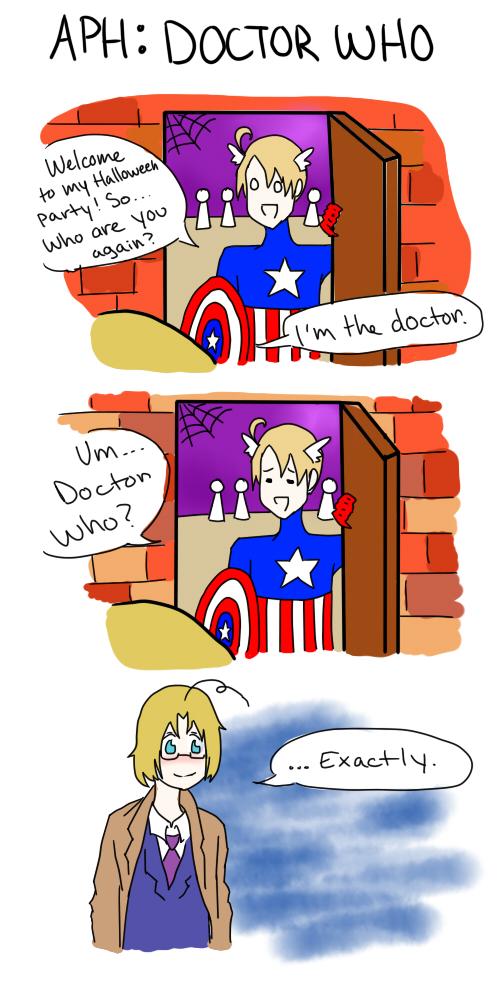 APH: Doctor Who by SweetFanoholic