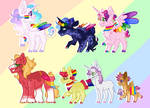 Smol Magical Gay Horses