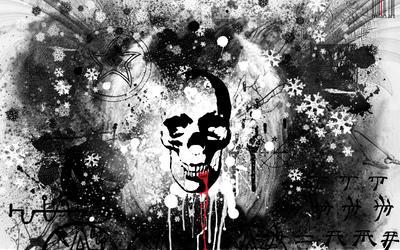skull by yashesh