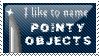 Pointy Objects by maranight
