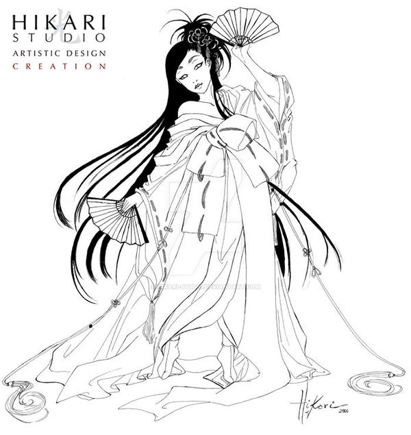 Beauty Woman Japanese by hikari-studio