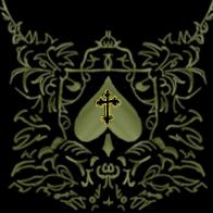 Aces Crossed Design by GeddonDusk