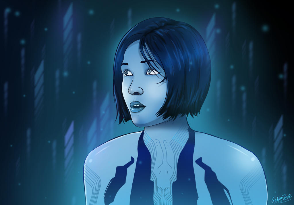 Cortana by GeddonDusk