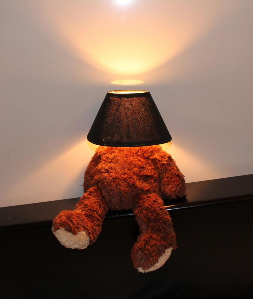 Teddy Bear Lamp By PaulienVeldhoven ...