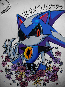Neo Metal Sonic By Theoperaticone On Deviantart
