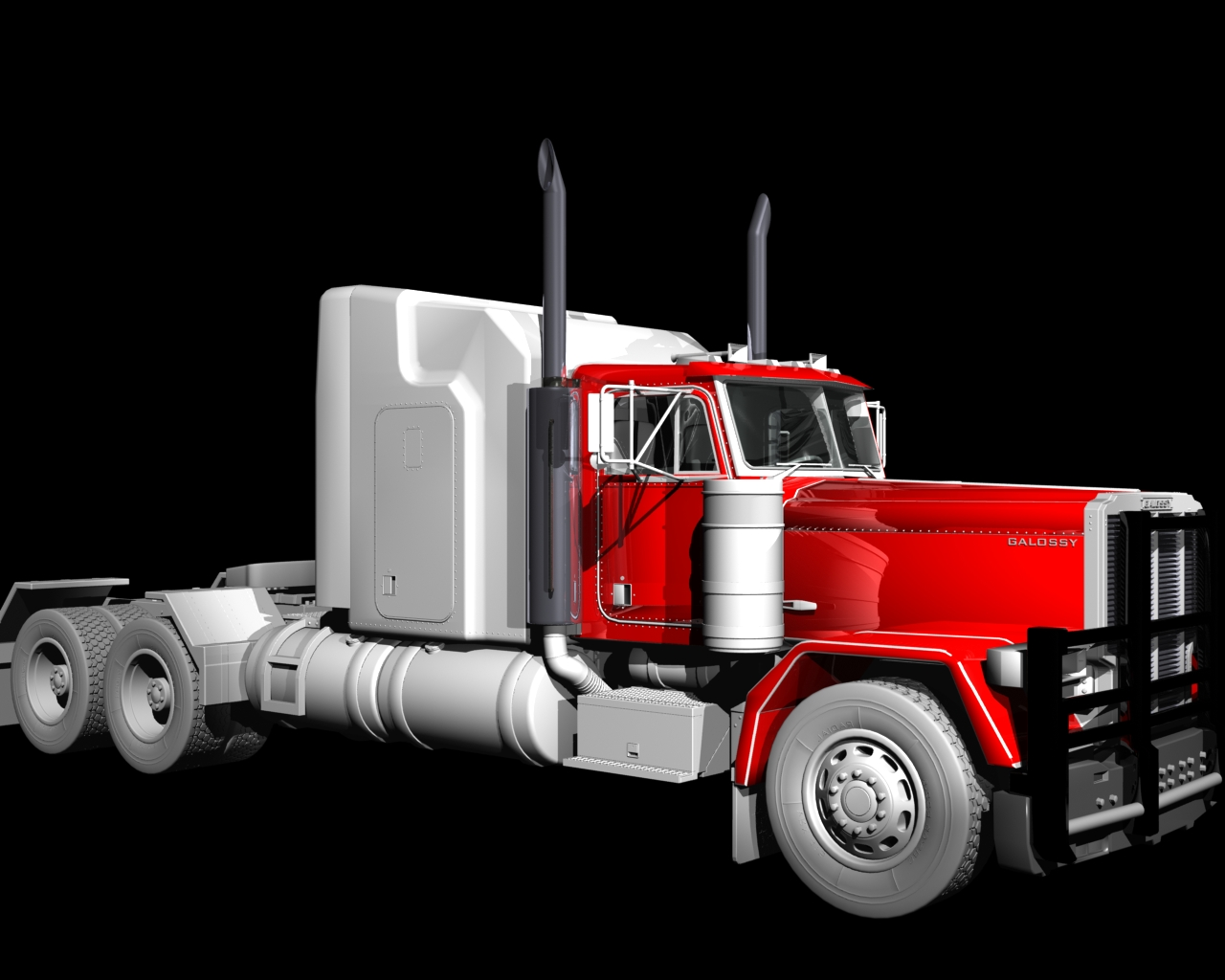 Truck Texturing Phase 2 by TheColorCute