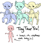 p2u tiny taur trio! base pack