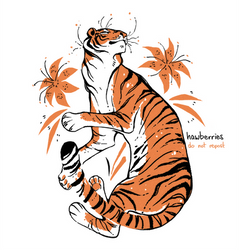 tiger / lily by hawberries