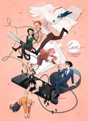 :: love is hard for otaku