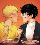 :: a ramen-based courtship