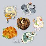 thinking about snakes 24/7 by hawberries