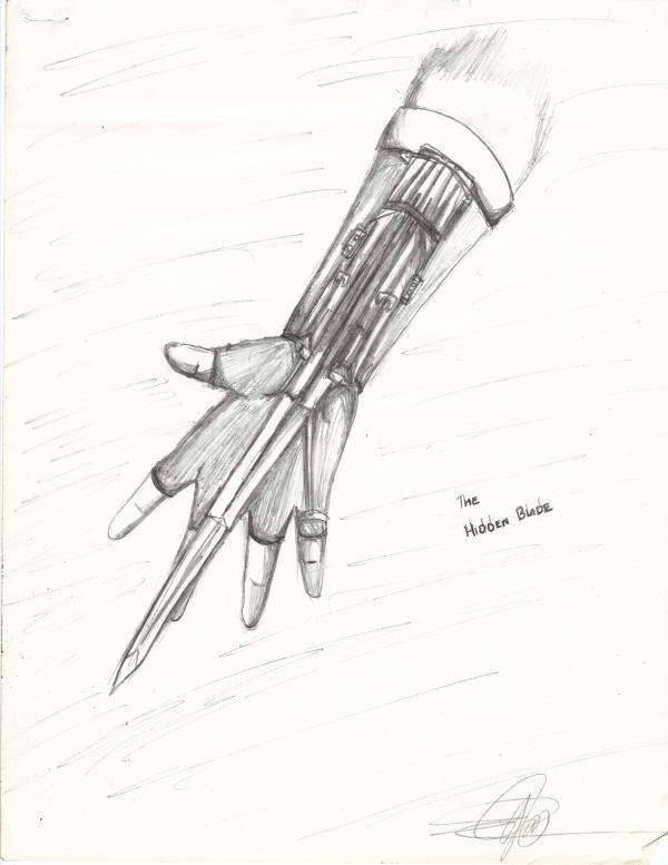 ringfingersafe hidden blade  d by ajulianineveryone on deviantart