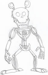 Freddy Fazbear Endoskeleton