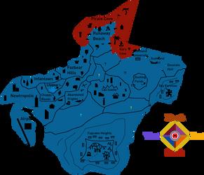 Fredland: Scottland map
