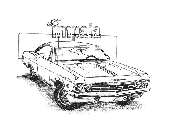 64 impala coloring coloring pages