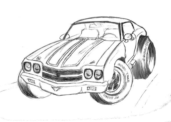 chevelle coloring pages - photo#31
