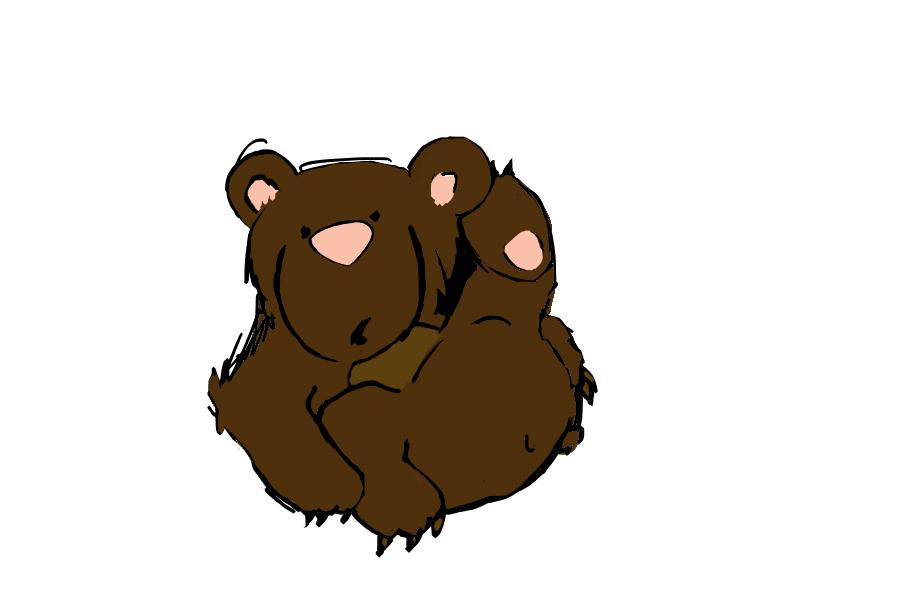 Little bear by fjordsare