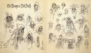 Red Death sketches