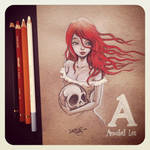 A is for Annabel Lee