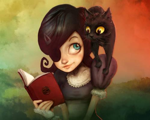 Carmesina and Black Cat