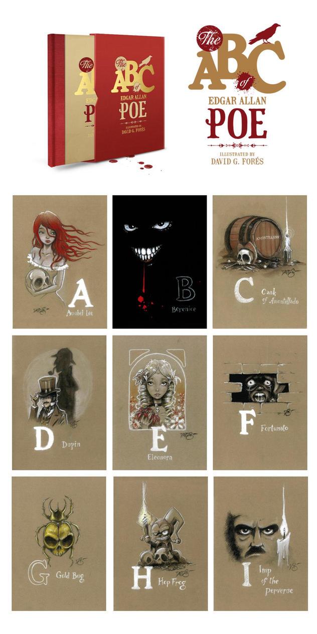 The ABC od Edgar Allan Poe (1) by Disezno
