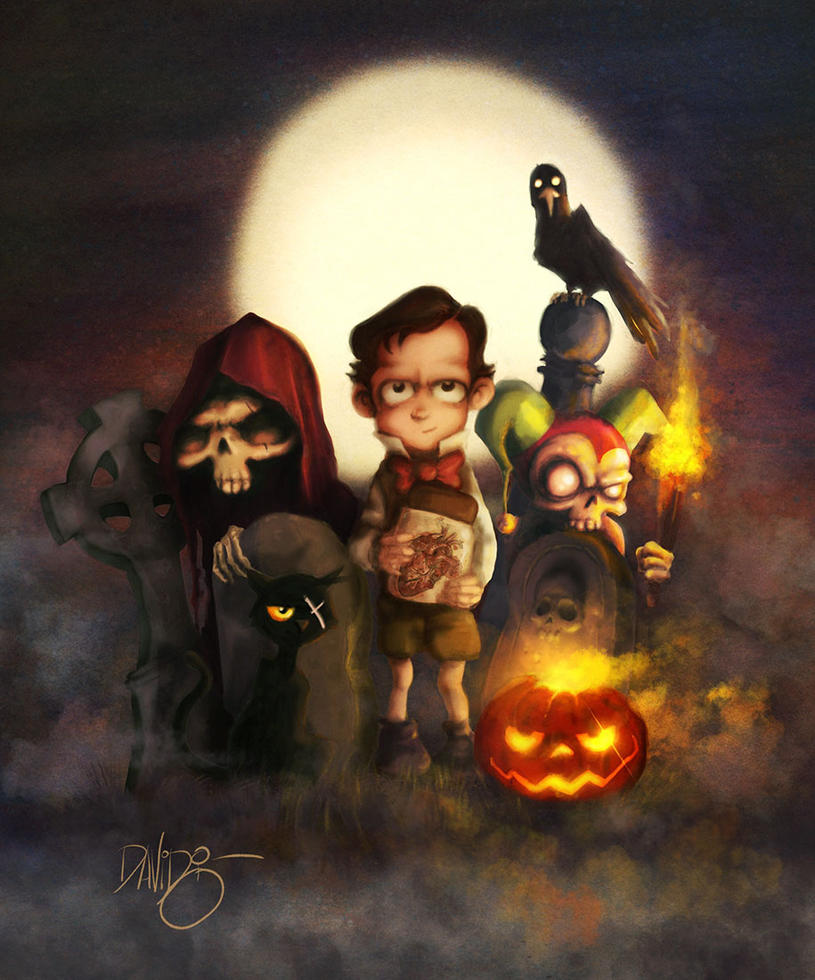 Scary Halloween! by Disezno