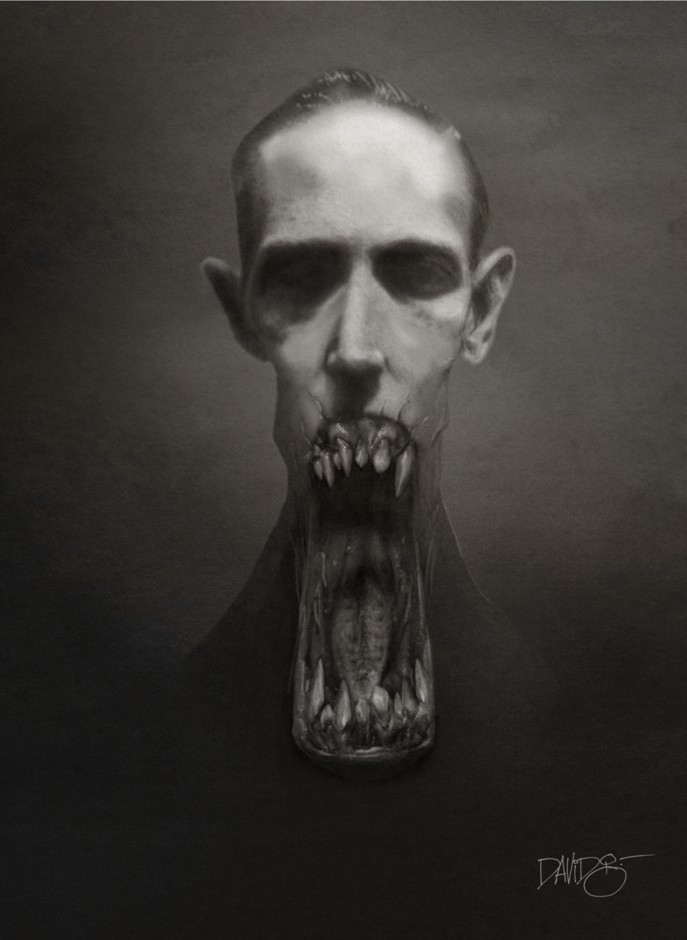 H.P. Lovecraft by Disezno