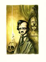 Edgar Allan Poe by Disezno