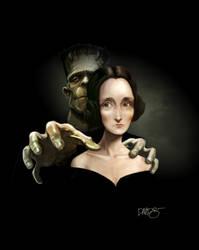 Mary Shelley by Disezno