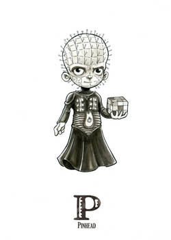 P is for Pinhead