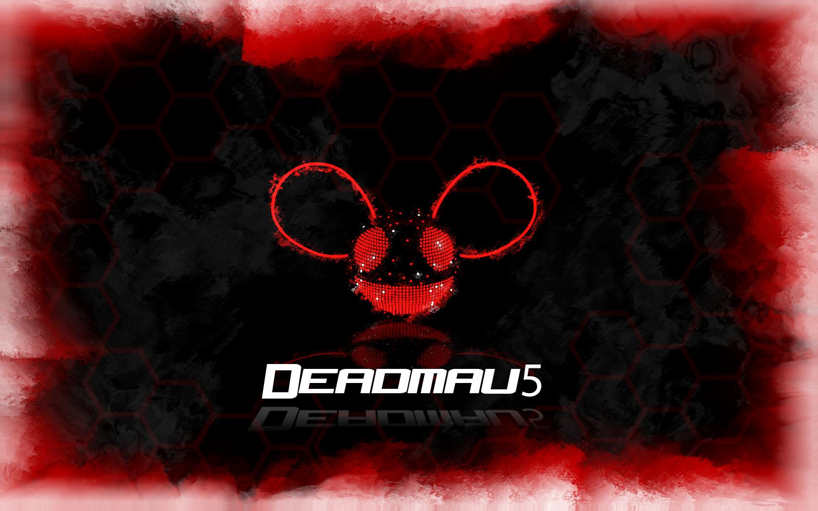 deadmau5 music red wallpaper - photo #10